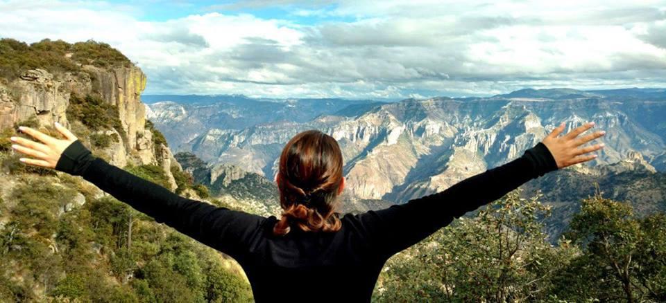 Experta Viajera, Sai Irene Sánchez en las Barrancas del Cobre, Chihuahua
