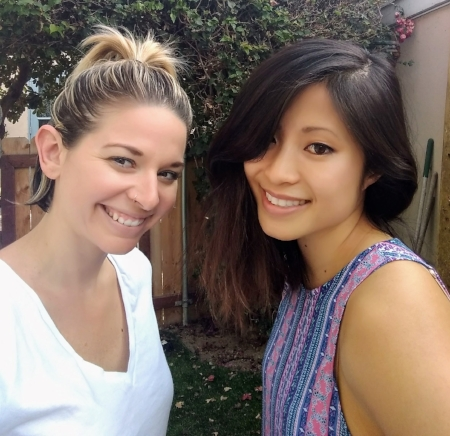 Erica and Tiffanie Mang