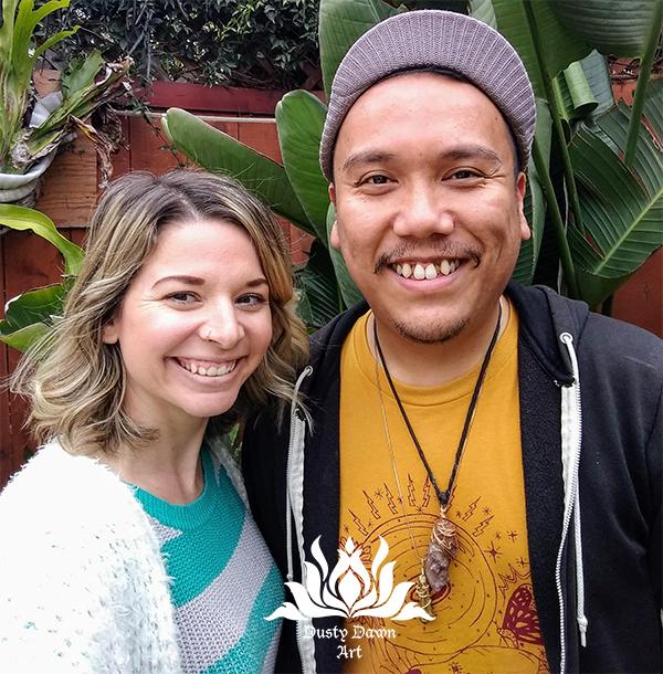 Erica and T. Jay Santa Ana