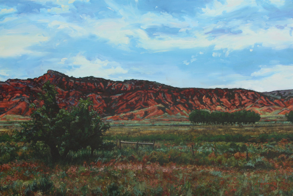 "Orchard Ranch, 24"" x 36"" Oil on Canvas"