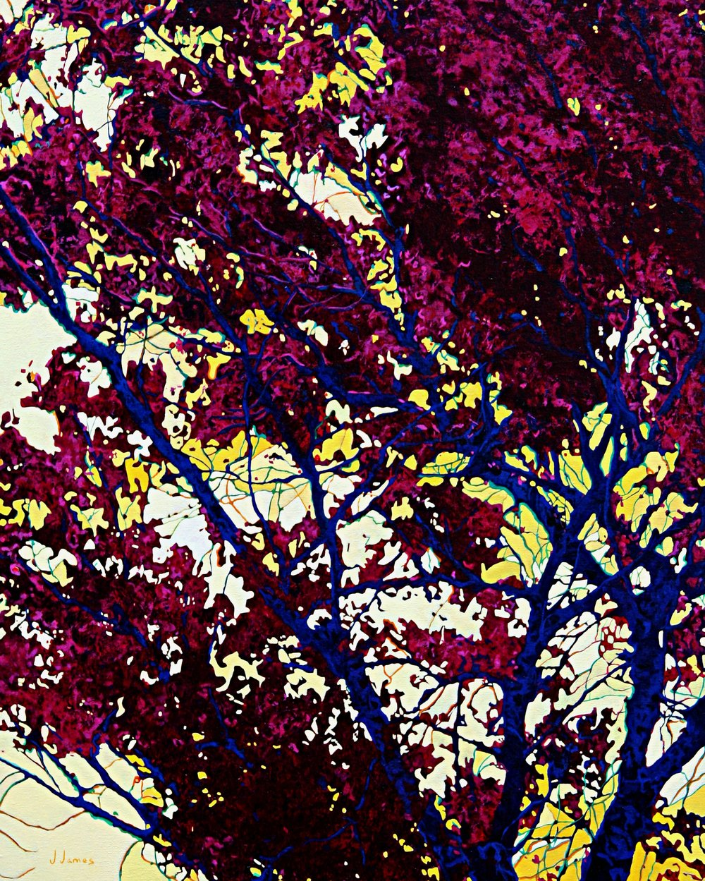 """Sun Kissed, 30"""" x 24"""" Oil on Canvas"""