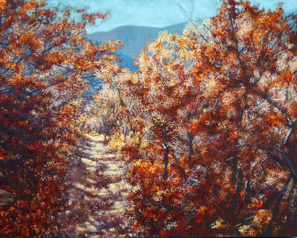 "The Path, 16"" x 20"" Oil on Linen"