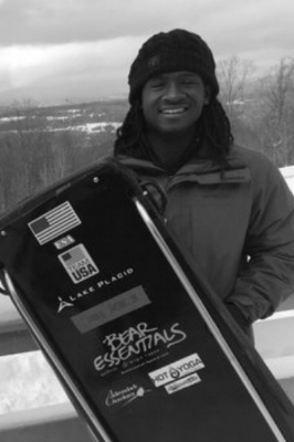 Darry Payne Jr with Skeleton sled.jpg