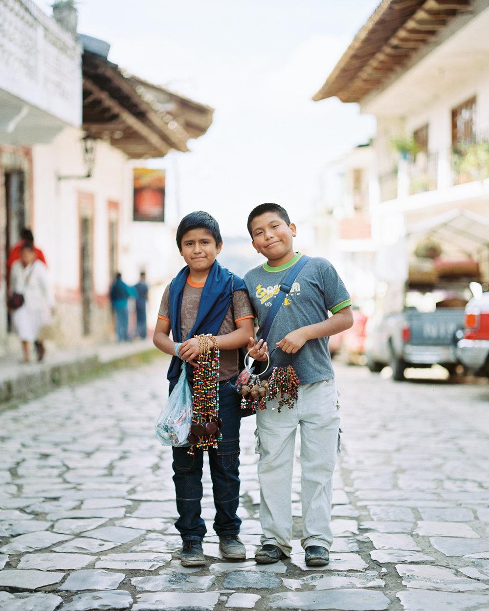 Local Boys Cuetzalan, Puebla Mexico  2015
