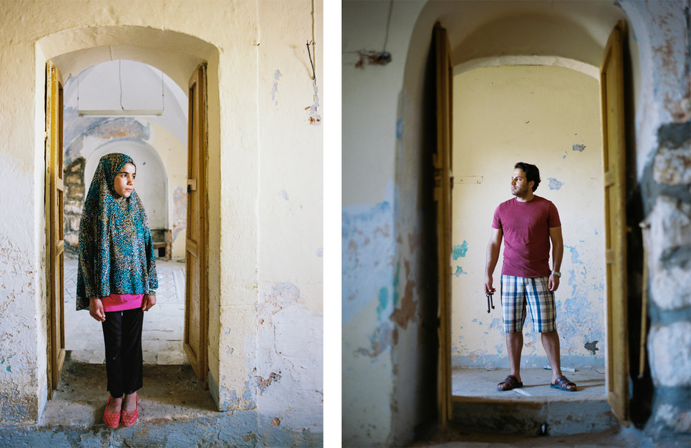Locals Abandoned Palestinian Home Near Al-Shuhada Street Hebron, Palestine West Bank  2015