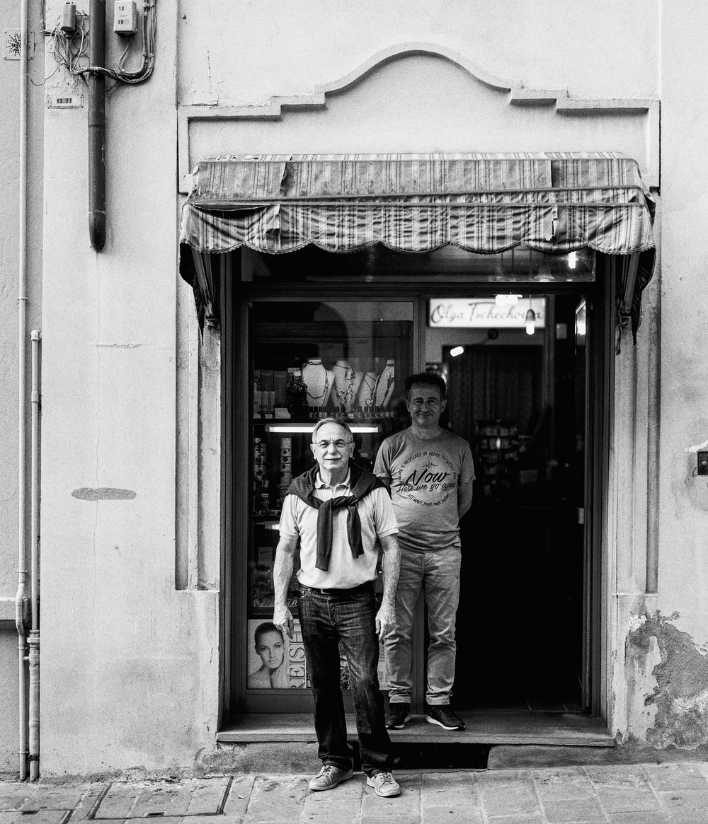 Shop Owners Brisighella, Italy  2017
