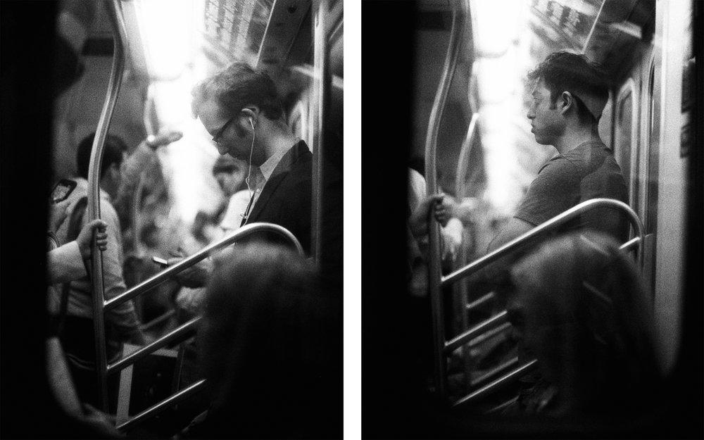 Subway Voyeurism New York City, New York USA  2017