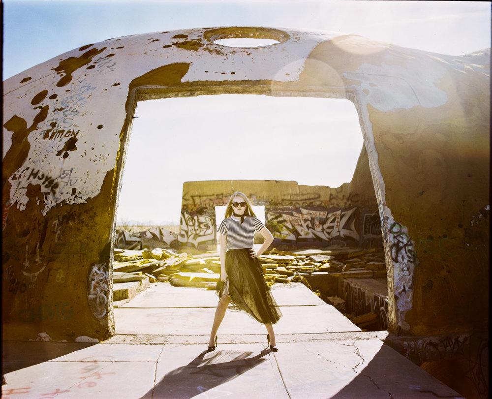 5_Megan_Mamiya_RB67_Portra_400_Casa_Grande_Arizona_Lens_flare_Domes_Copyright_Taylor_Noel_Photography.jpg