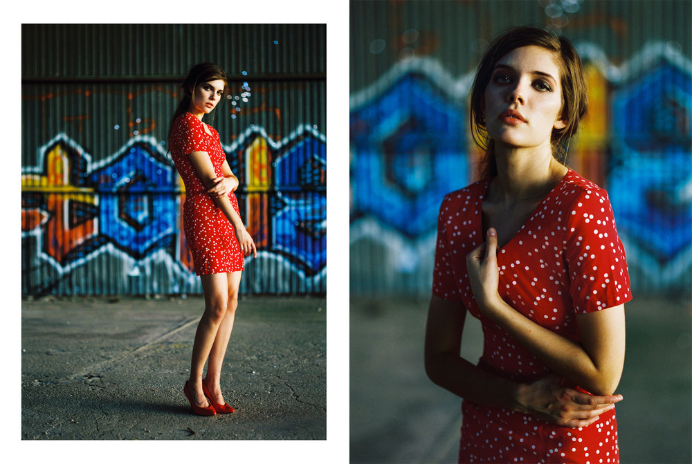 14_Jennifer_Arizona_Pentax_67_Kodak_Portra_400_wearhouse_Red_dress_Portrait_Copyright_Taylor_Noel_Photography.jpg