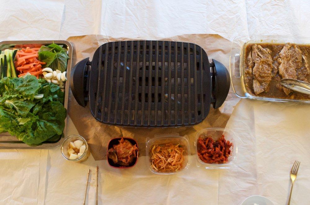 Korean bbq galbi recipe
