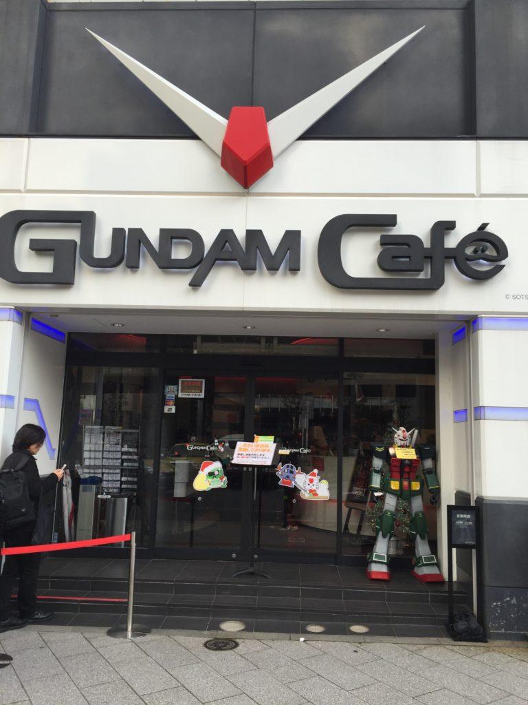 gundam cafe japan