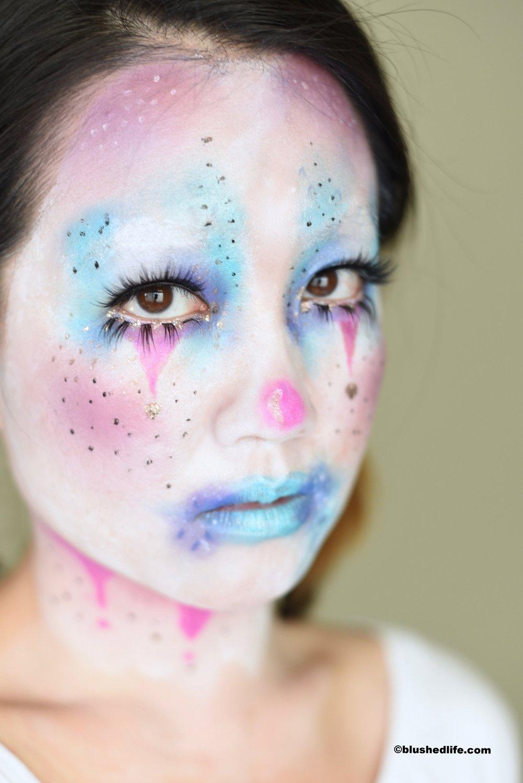 Cute Unicorn Cotton Candy Clown Makeup_DSC_9418.jpg