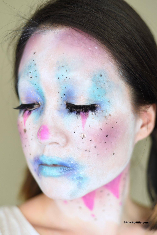 Cute Unicorn Cotton Candy Clown Makeup_DSC_9417.jpg