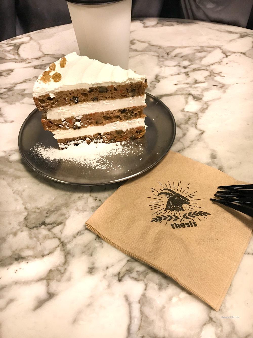 carrot cake -