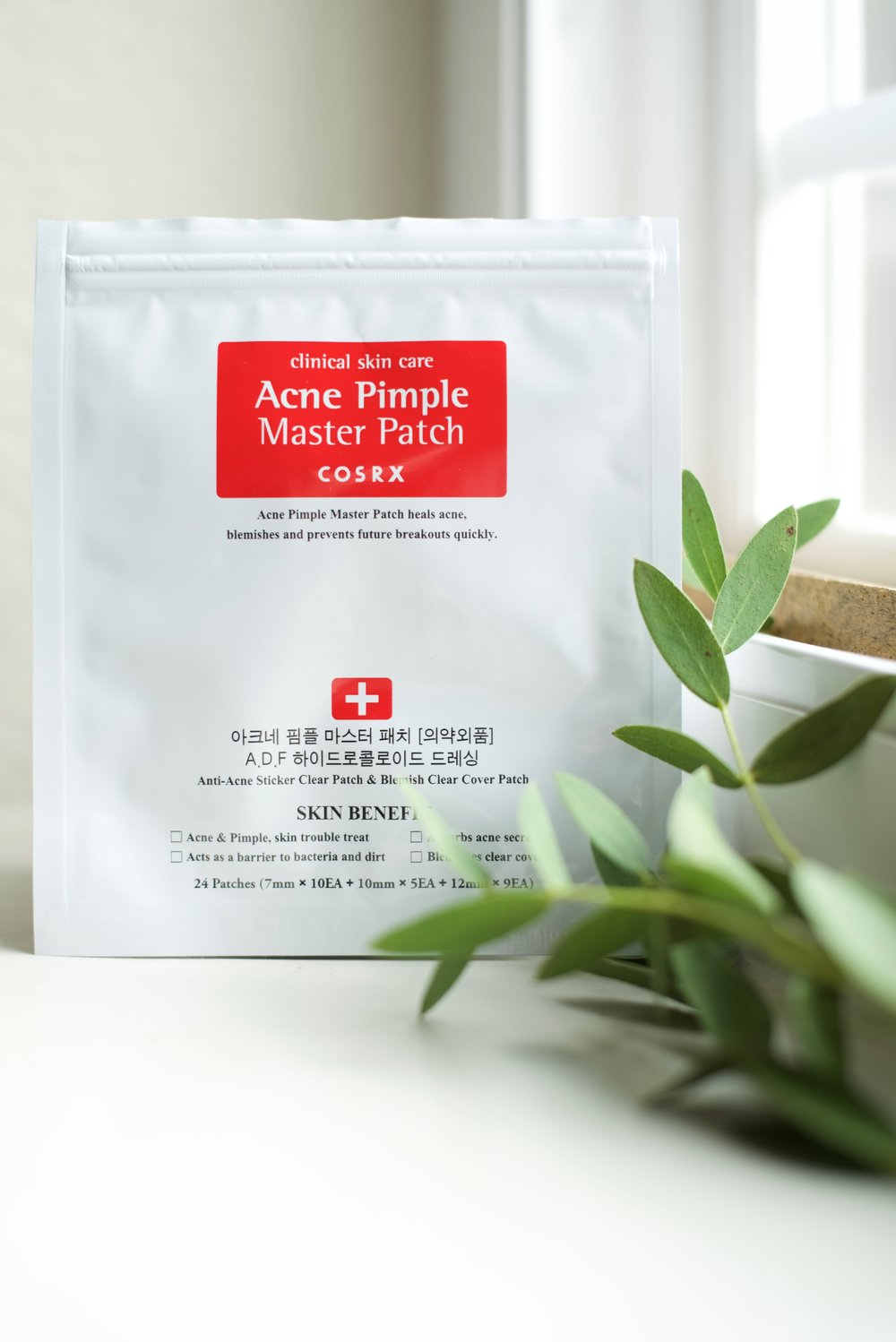 5. COSRX Acne Pimple Master Patch - To fight off pimples.