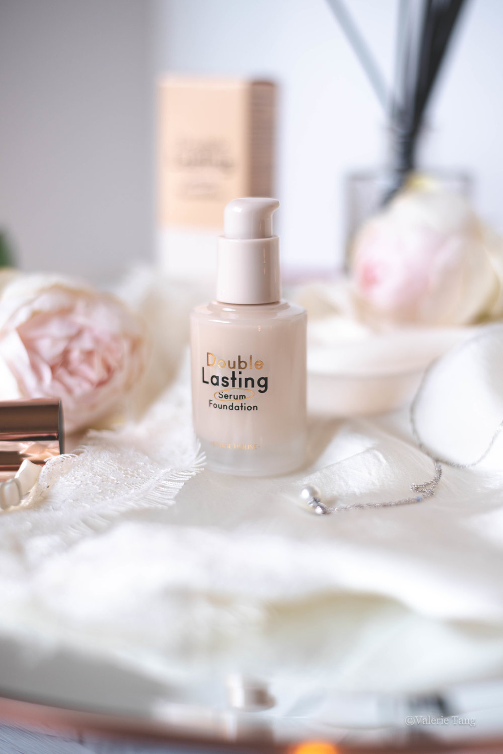 Etude House Double Lasting Serum Foundation Review