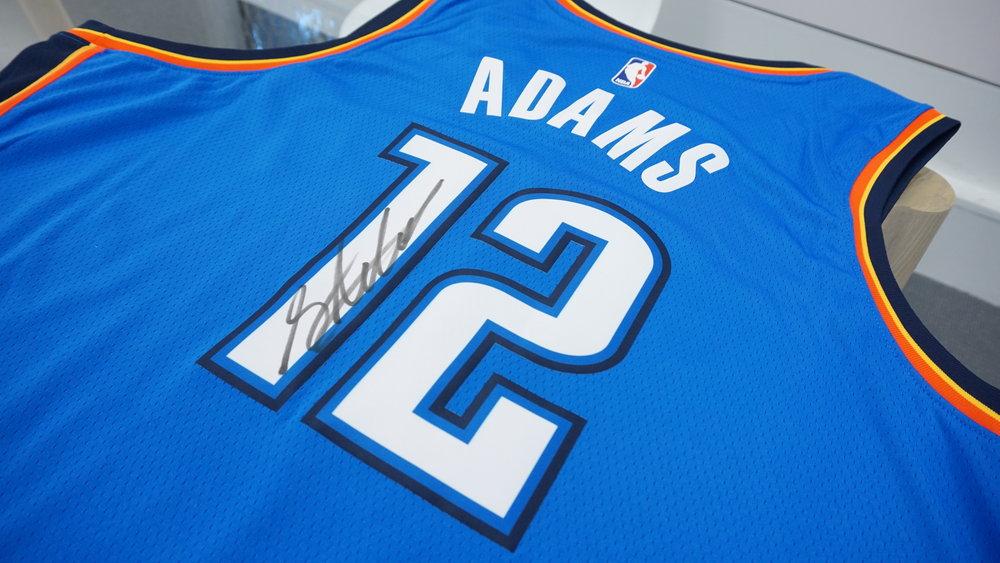 OKC Singlet Signed Adams