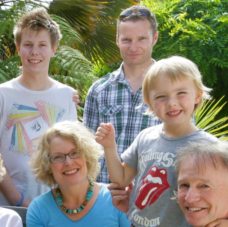 My Uncle, Mum, My Nephew, Dad and I.