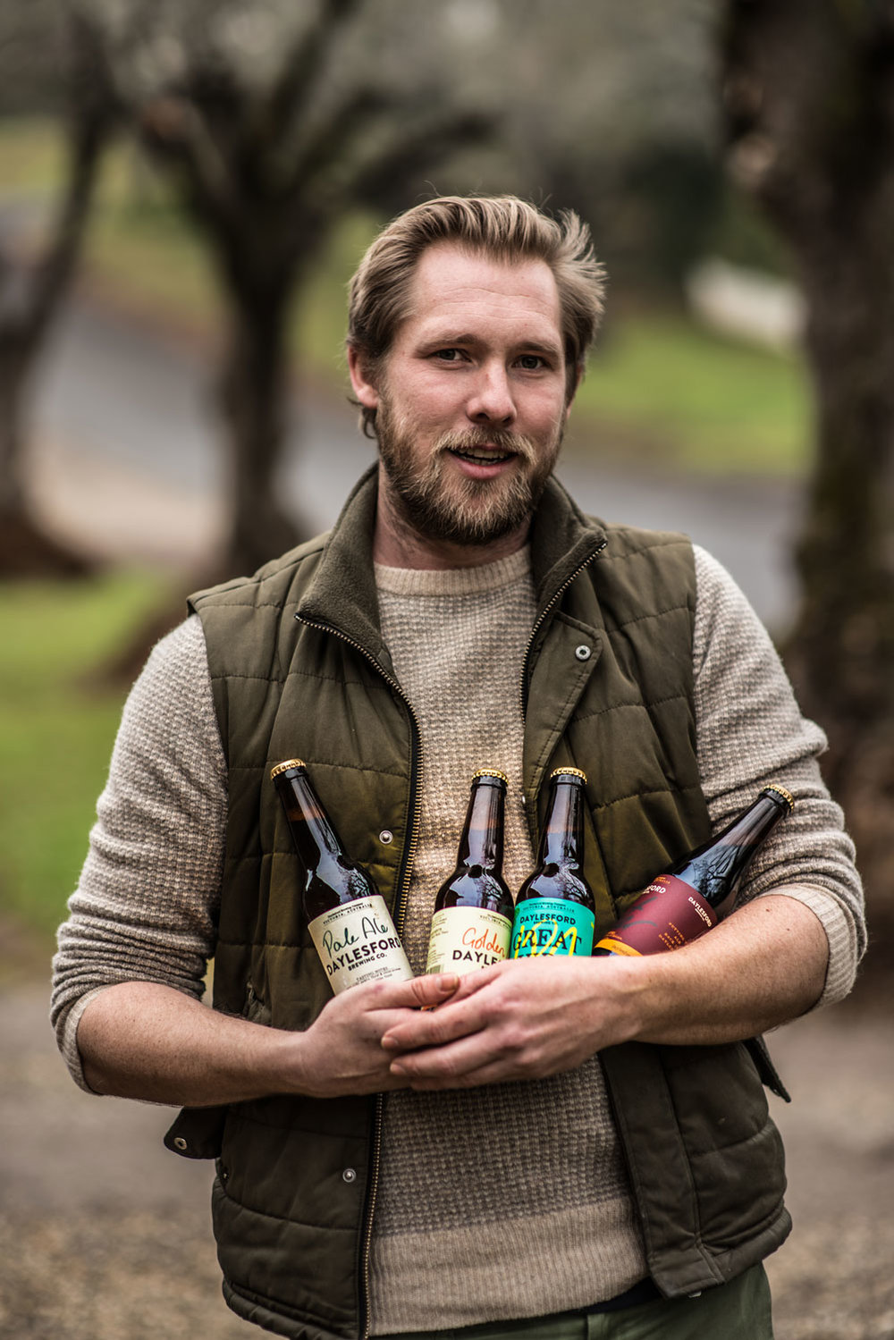 DAVID GILL, BREWER AND CO-FOUNDER DAYLESFORD BREWING CO.