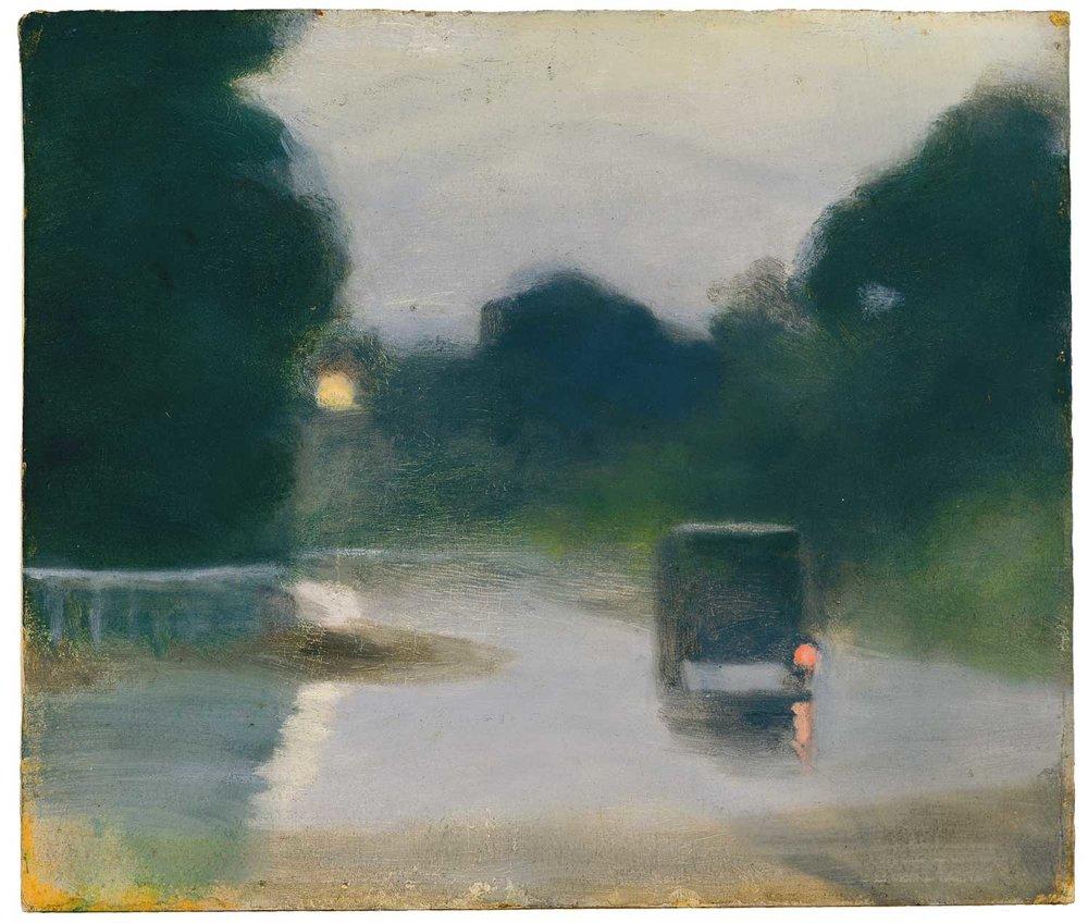 Wet Evening, Clarice Beckett
