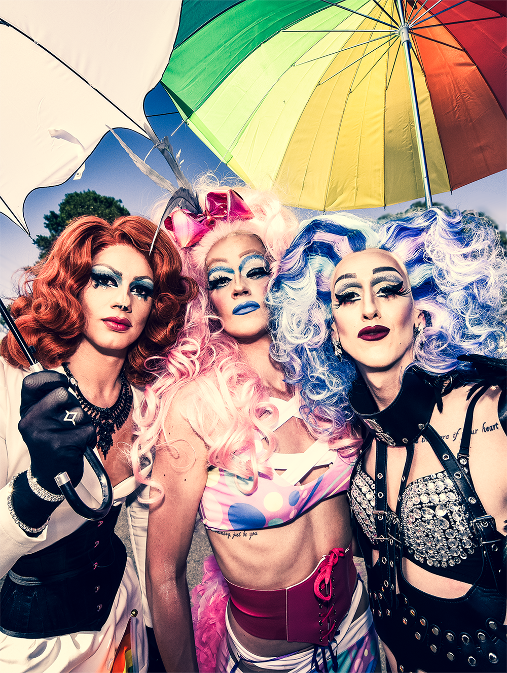 ChillOut Festival is held every year in Daylesford in March. Australia's longest and largest regional queer festival. Image by Jeremy Bannister ChillOut 2018