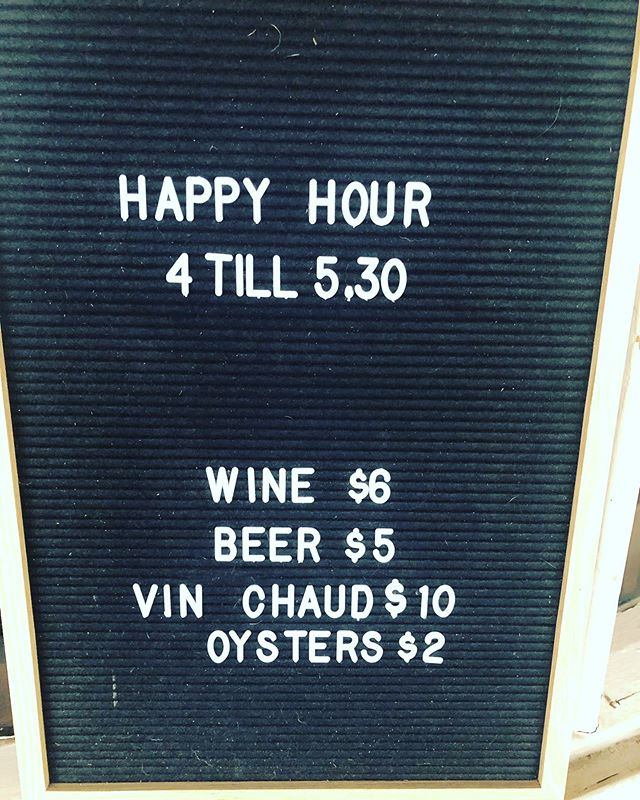 We think this is best happy hour ever. $2 oysters and $6 wines at @bistro.terroir - wahoo! Happy #Friyay #amaze #bless  #justjokingontheridiculoushashtag #visitmacedonranges #visitdaylesford #oysters