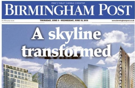 Birmingham Post editor announces resignation after Trinity Mirror targets 25 job cuts    Press Gazette | June 2015