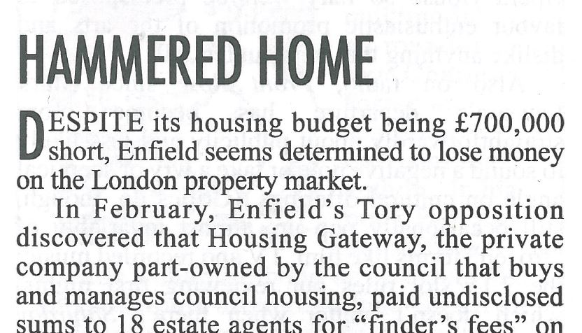 Hammered home    Private Eye | May 2017