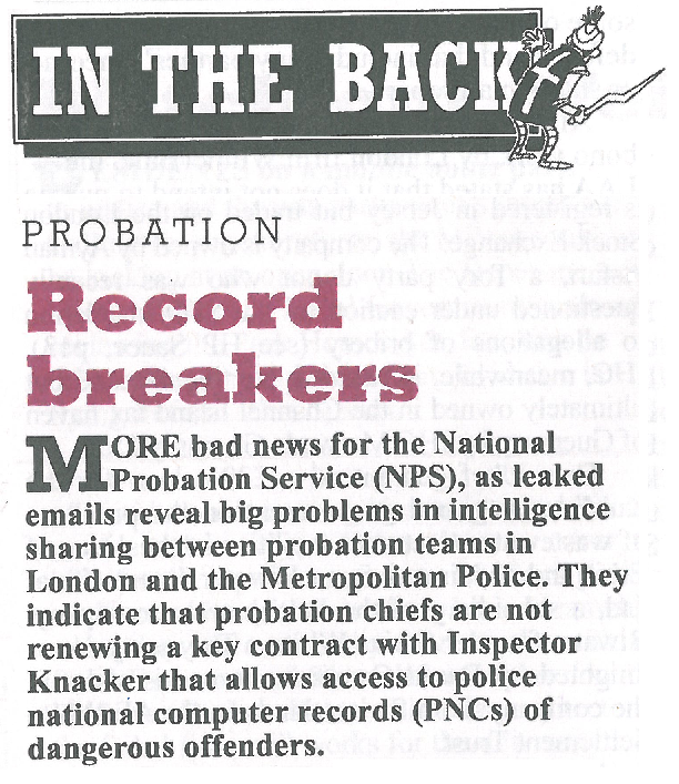 Record breakers    Private Eye | June 2017   With Heather Mills