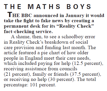 The Maths Boys (I)    Private Eye | March 2017