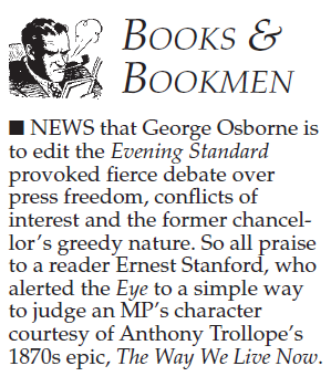By George!    Private Eye | April 2017