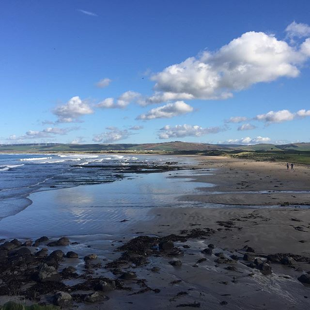 Autumn sunshine Machrihanish Beach #machrihanish #explorekintyre #wildaboutargyll
