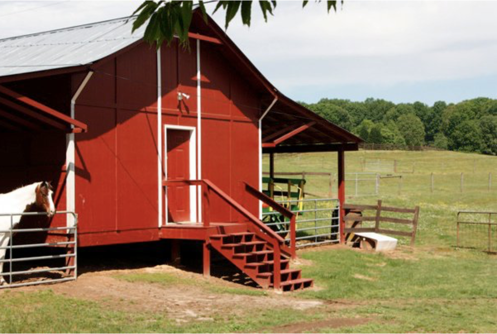 Brookside Farms Red Horse Barn