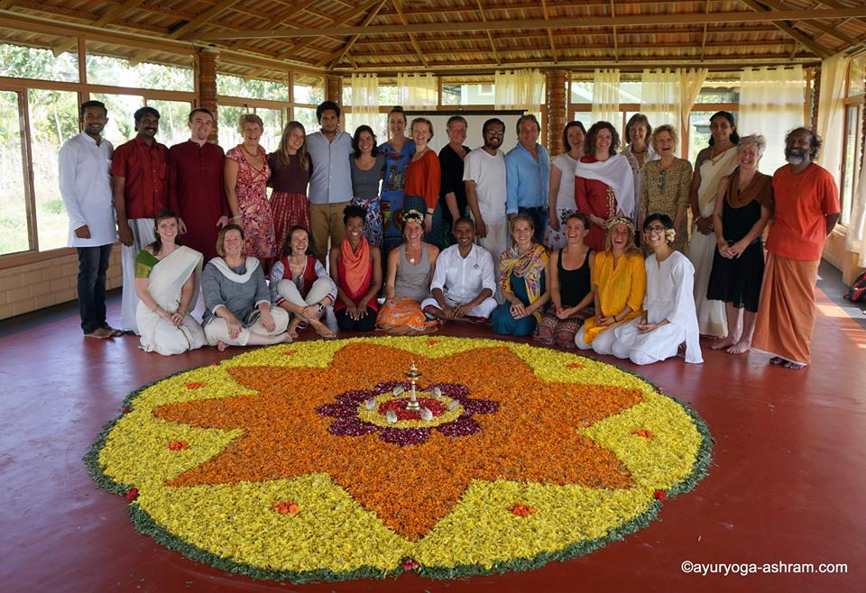 So many fond memories from my RYT200 Yoga Teacher Training in India