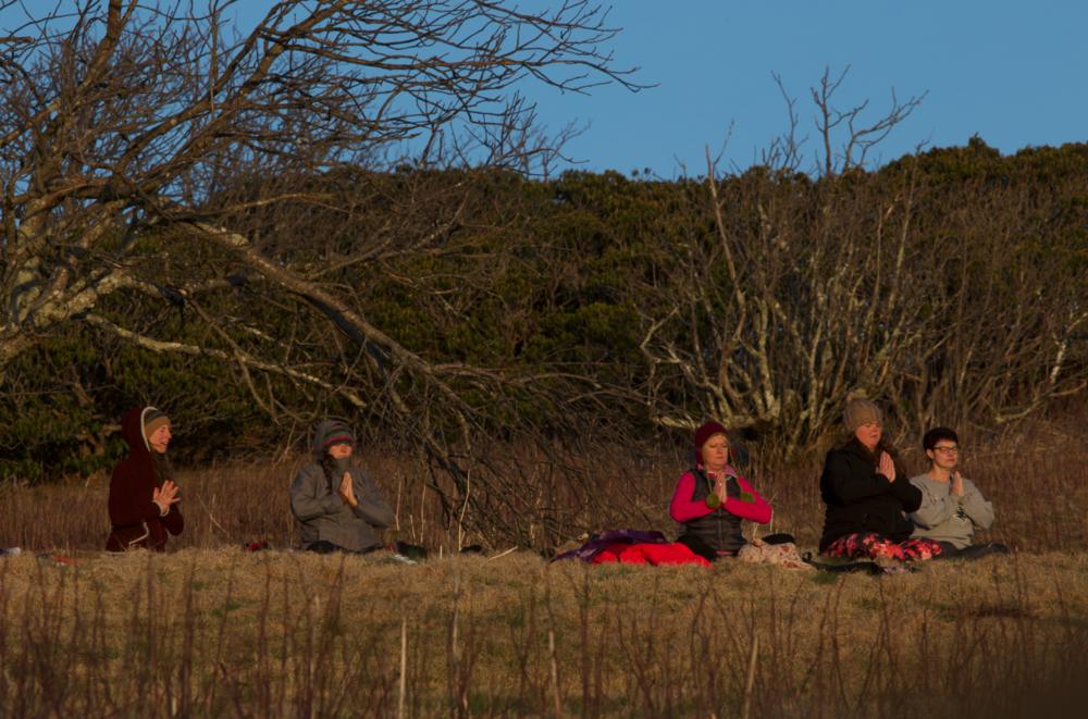 Full Moon Yoga Hike Group