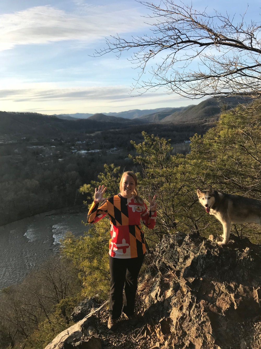 Kerri's 52nd Hike in Hot Springs, NC