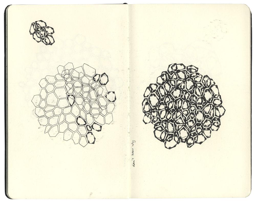 Sketchbook; building layered patterns.
