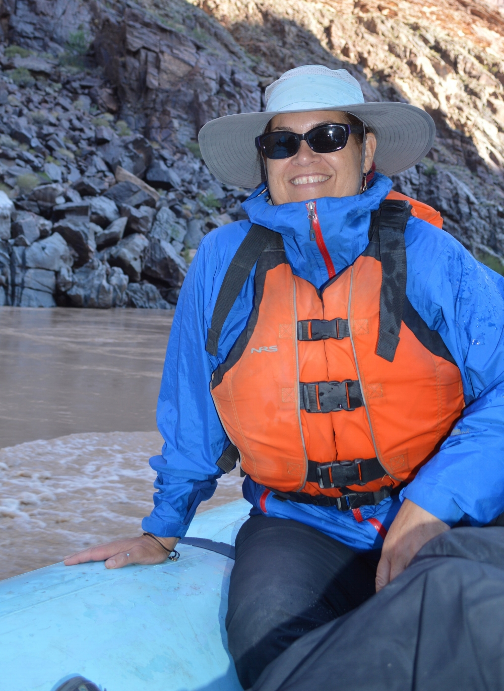 Lorrie in the Grand Canyon