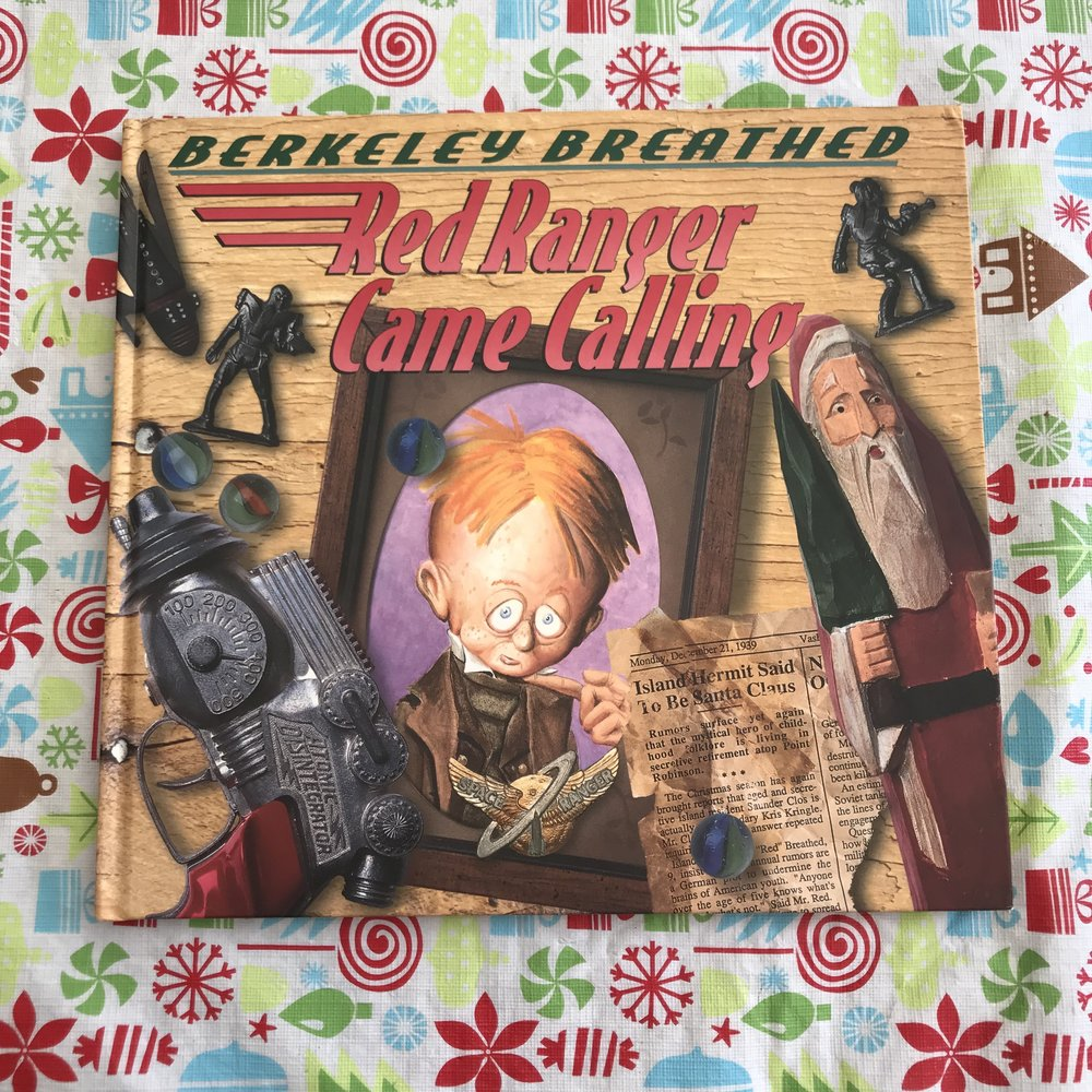 This is the first book… - …that started the tradition. It's for older kids and I picked it before I had a kid of my own, but I love the illustrations, and its quirky essence about Christmas magic.