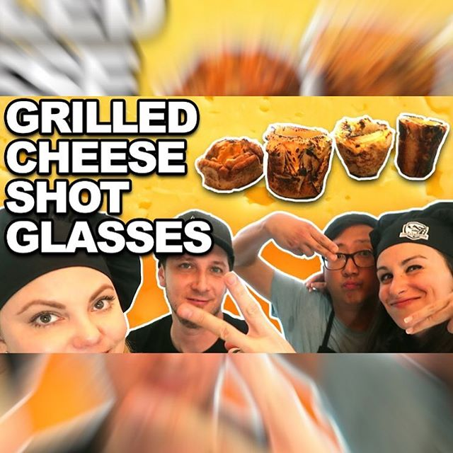@hellthyjunkfood came over and we did a Battle Royale with Cheese! Who won? Linkinbio. #🍞🧀