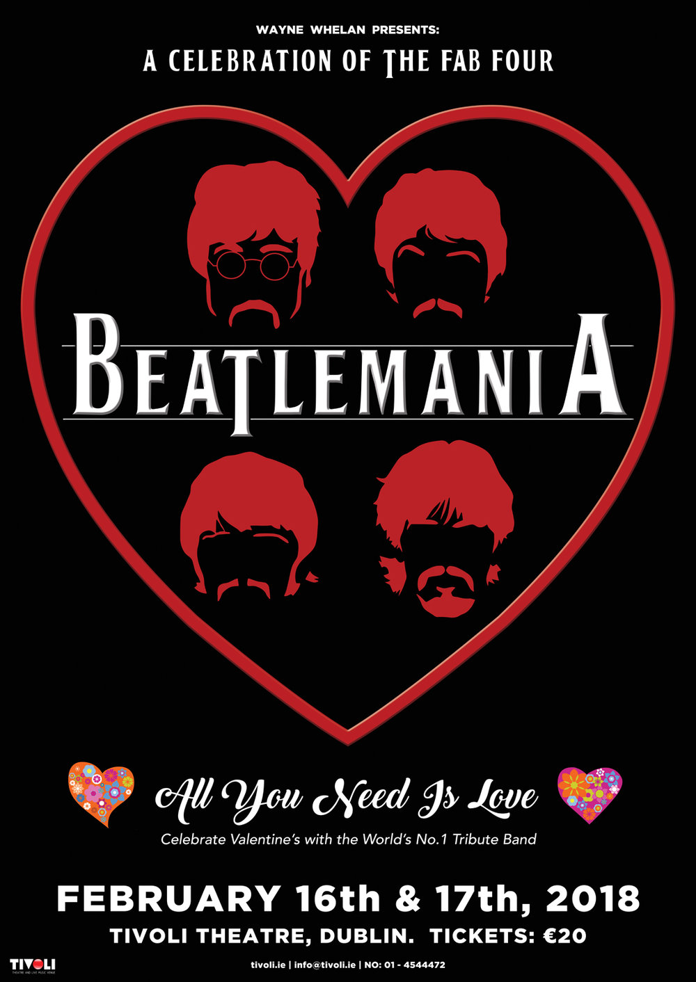 beatlemania poster