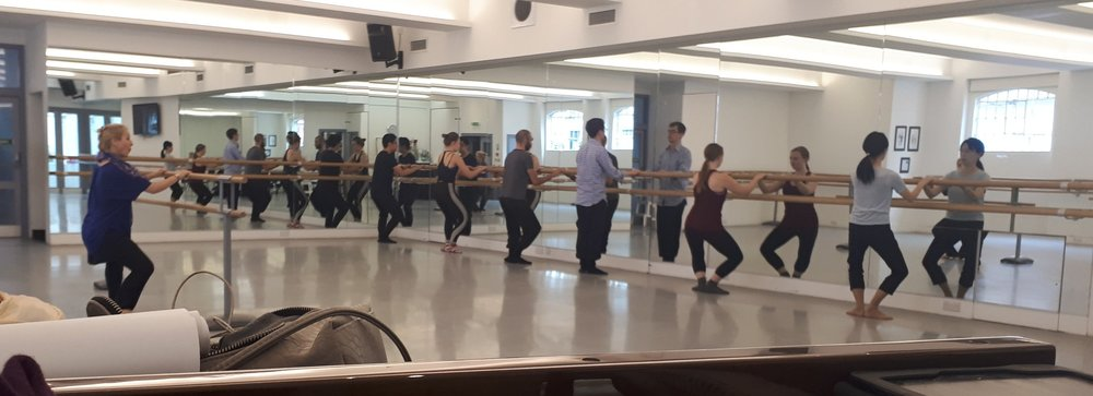 musicians' ballet class with penny kay