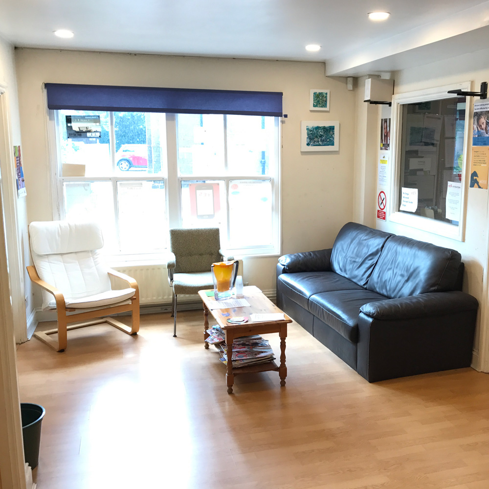 We have a fully furnished drop in service where young people can wait in peace and quiet while we find the best solution for their needs.