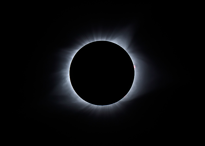 Totality. August 21, 2017