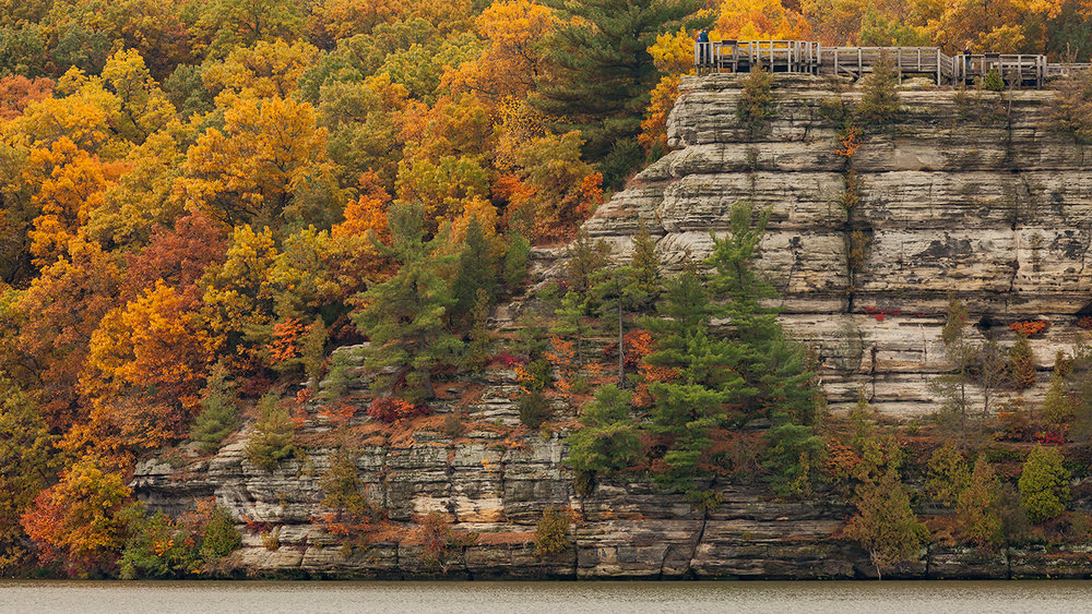 Eagle Cliff, Starved Rock State Park, IL