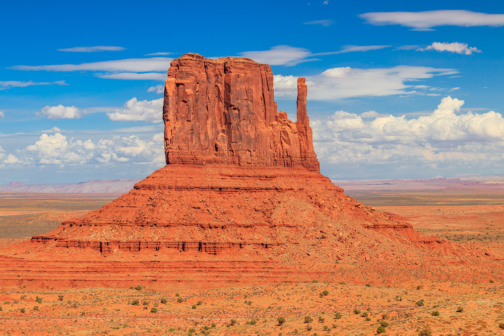 West Mitten Butte, Monument Valley Navajo Tribal Park