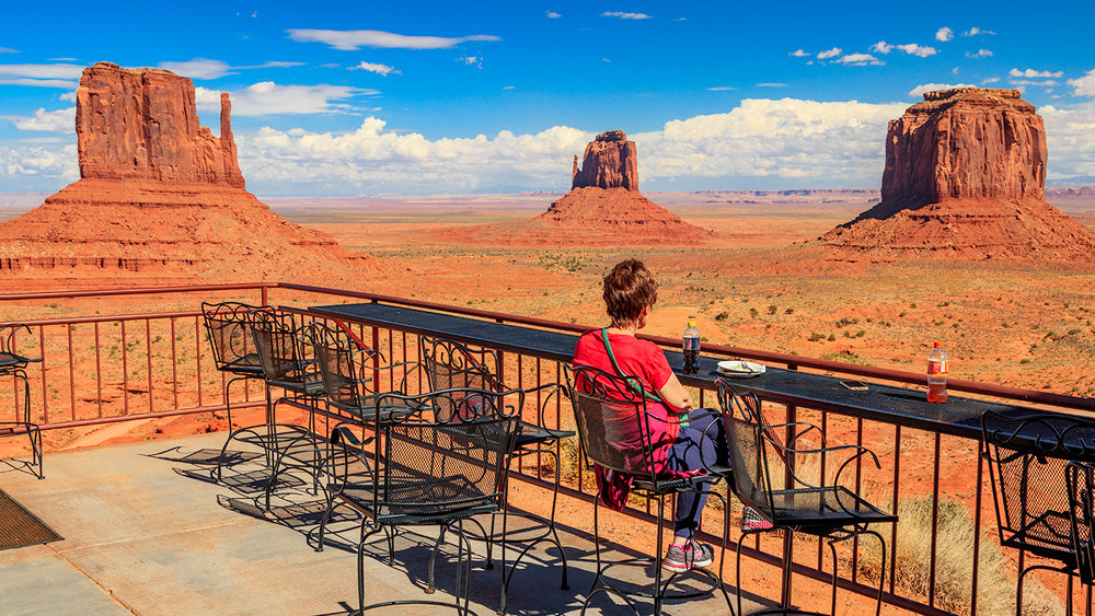John Wayne's Point, Monument Valley