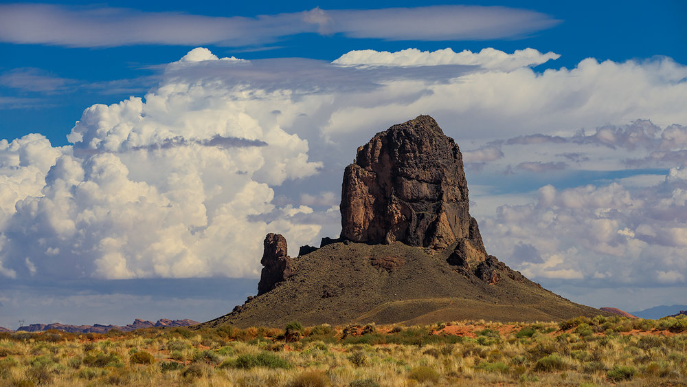 Algathla Peak, El Capitan, Navajo Nation, Arizona