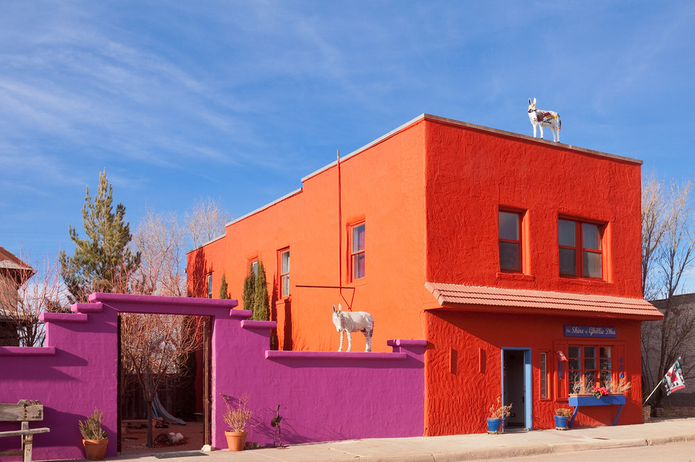 Carrizozo, Route 54, New Mexico