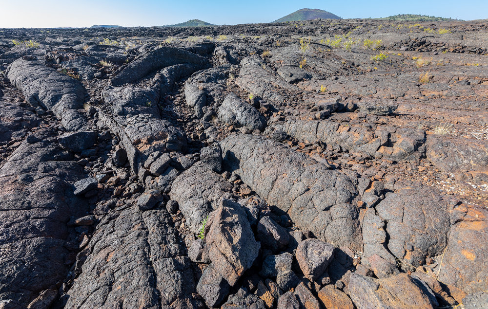 Lava field, Craters of the Moon National Monument and Preserve